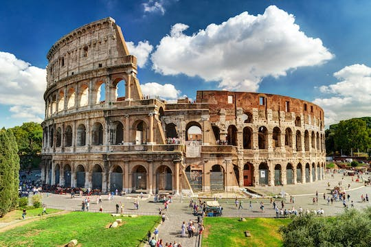 Priority access to the Colosseum, Roman Forum and Palatine Hill with optional guided tour