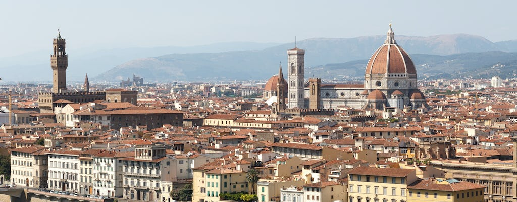 Half-day Florence highlights walking tour and Accademia skip-the-line tickets