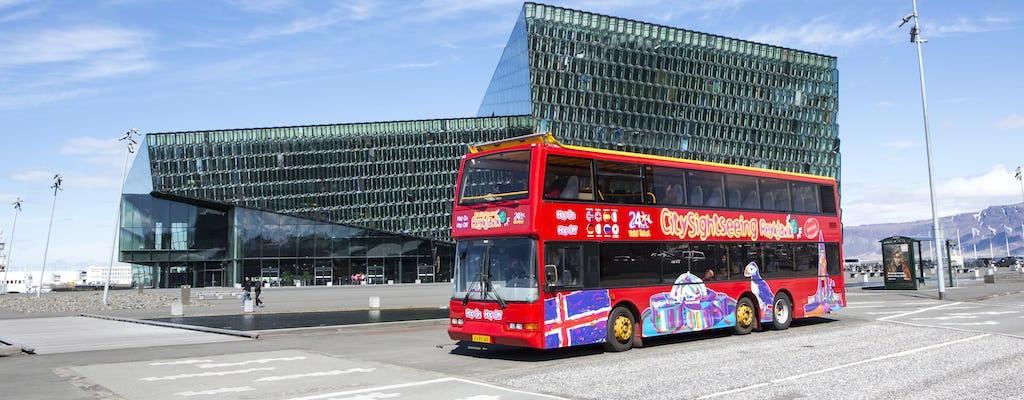 Reykjavík hop-on hop-off bus tour