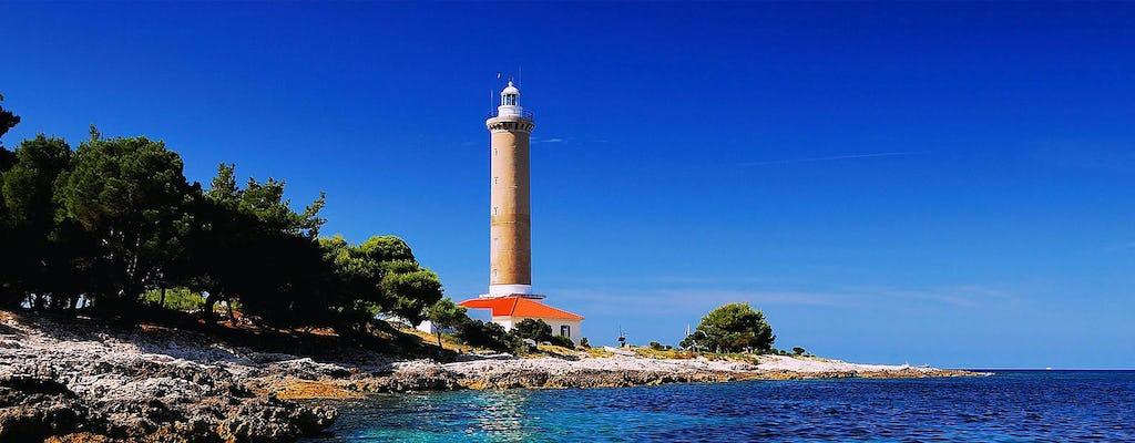 Saharun beach full-day tour from Zadar