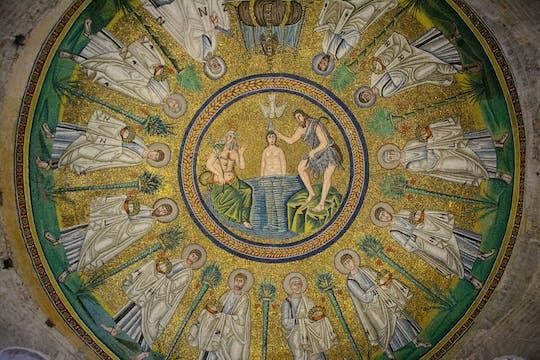 Excursão privada de dia inteiro a Ravena com admissão de mosaicos