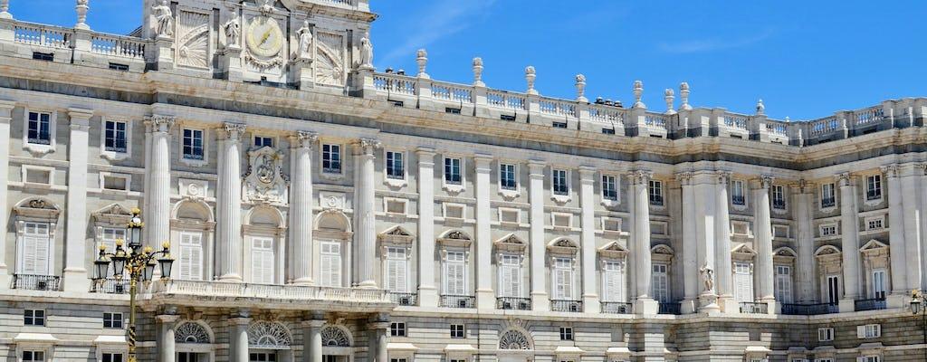 Tour della Madrid degli Asburgo e visita a Palazzo Reale