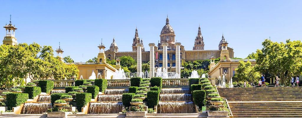 Montjuïc e tour panoramico con Poble Espanyol a Barcellona