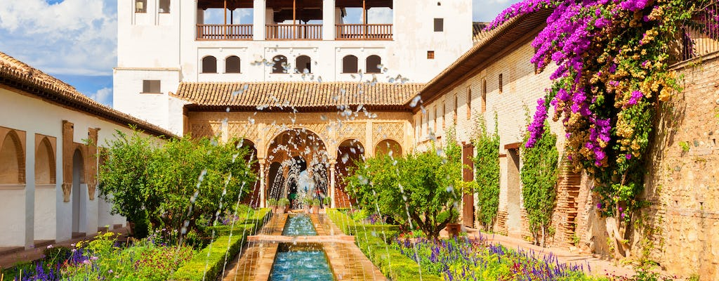 Alhambra and Generalife skip-the-line tickets and official guided visit