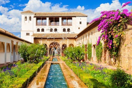 Entradas sin colas a la Alhambra y al Generalife y visita guiada oficial