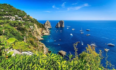 City tours,Activities,Cruises, sailing & water tours,Water activities,Naples Tour,Excursion to Capri