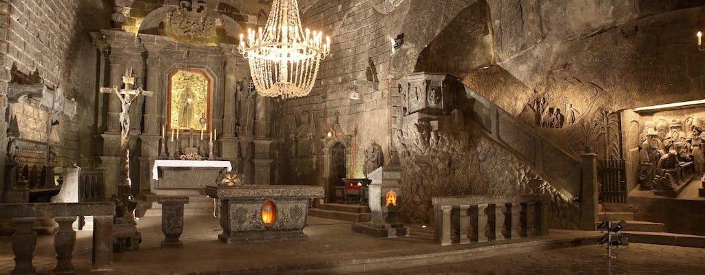 Tour guidato della miniera Wieliczka da Cracovia con trasporto