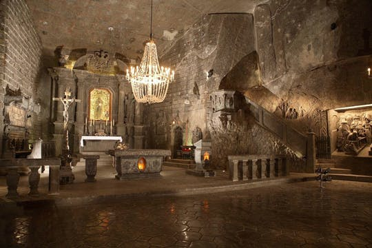 Wieliczka Salt Mine guided tour from Krakow with transfer