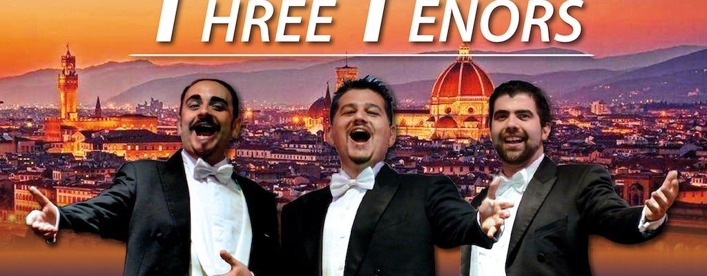 L'hommage des trois ténors à Pavarotti à Florence