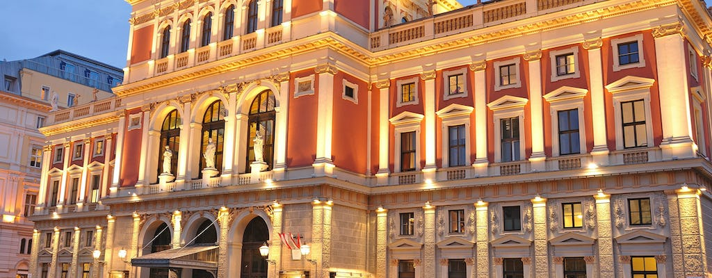 Mozart concert tickets at the Vienna Musikverein