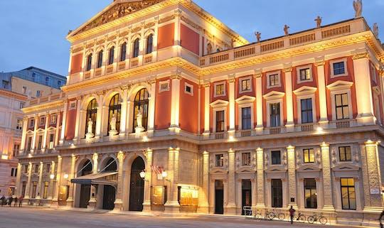 Bilhetes para o concerto de Mozart no Musikverein de Viena