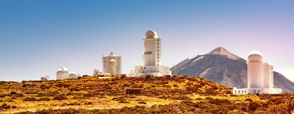 Guided Teide observatory tour