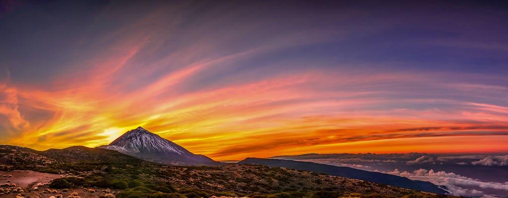 Sunset tour on Mount Teide