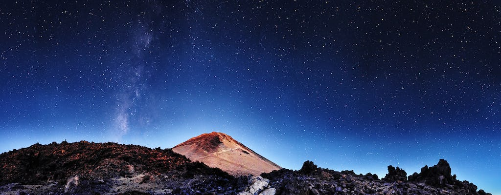 Astronomy tour on Mount Teide