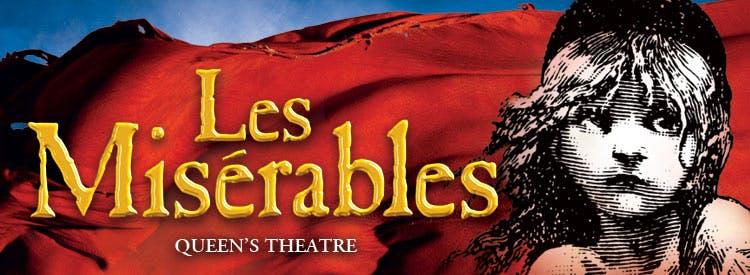 Tickets to Les Miserables at Queens Theatre
