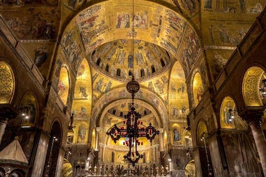 Basílica exclusiva de San Marcos después de horas de visita
