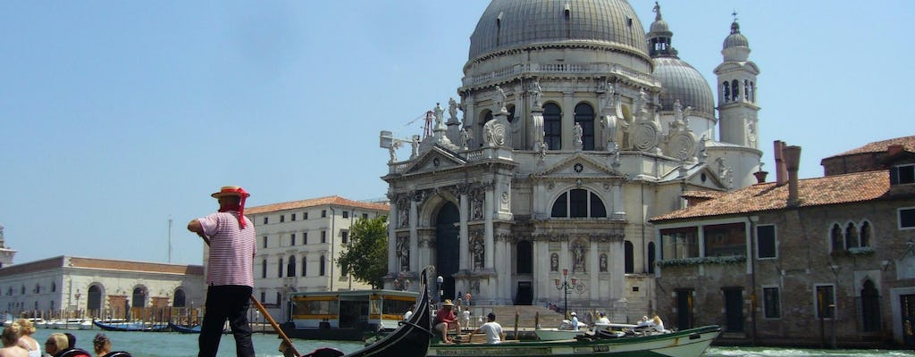 Private guided gondola ride on Venice's Grand Canal