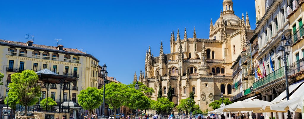 Excursion to Segovia with guided walking tour from Madrid