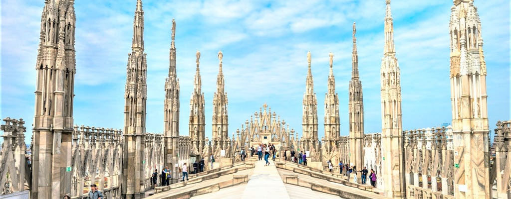 Duomo and Rooftop priority access tour for small groups