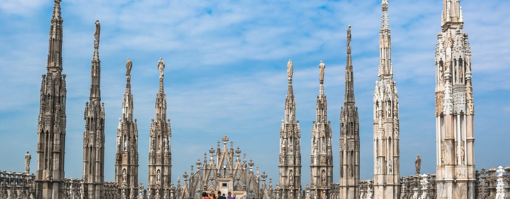 Rooftop terraces of the Duomo Cathedral: priority access tour