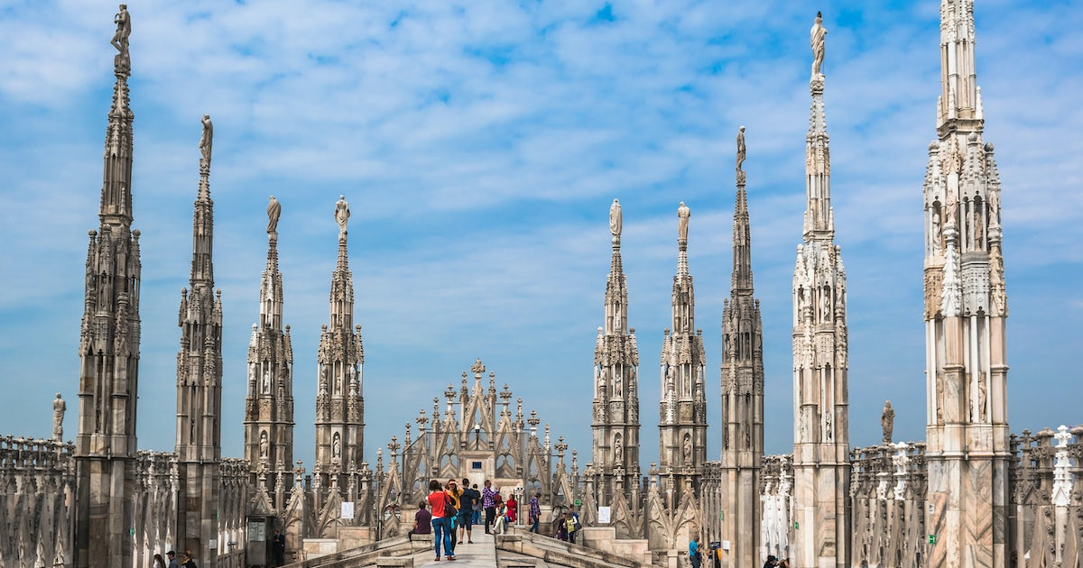 Rooftop Terraces Of The Duomo Cathedral Priority Access Tour