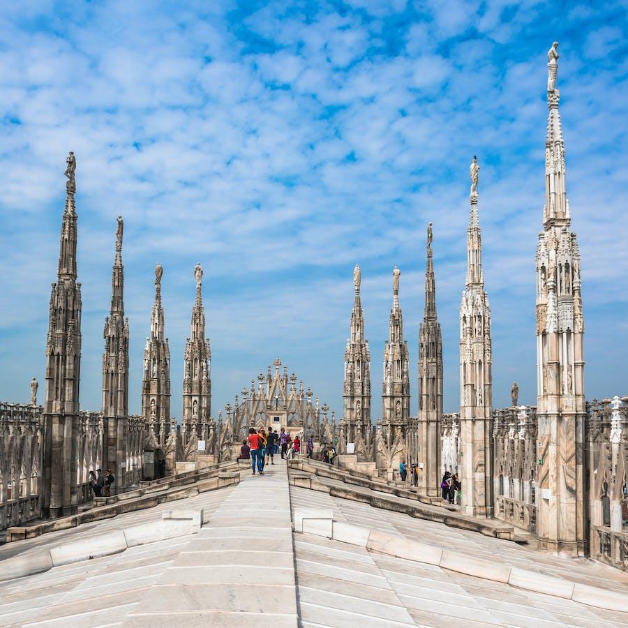 Terrazze Del Duomo Di Milano Tour Con Accesso Prioritario