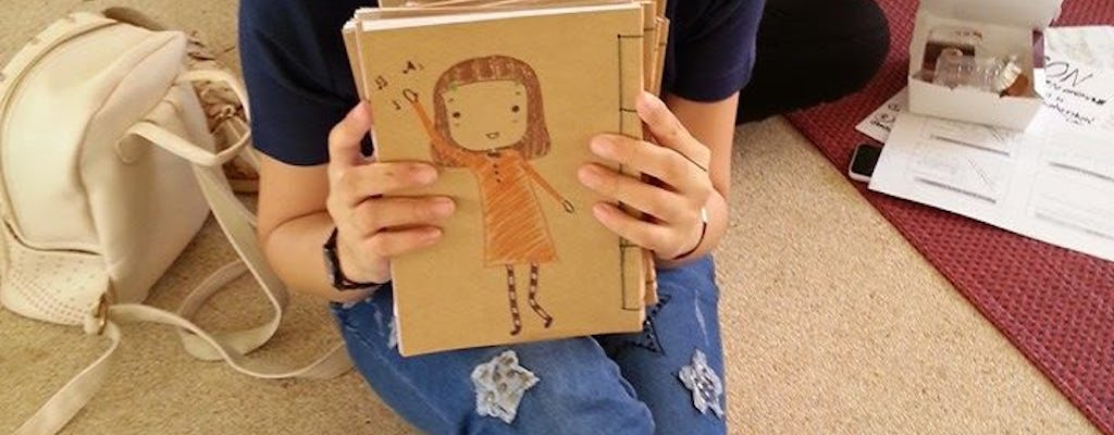 Bangkok Art Workshop: Make a Notebook from Recycled Paper