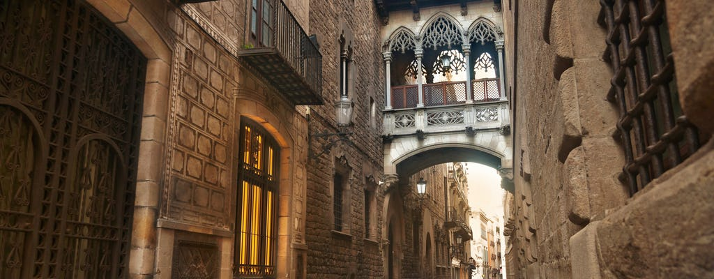 Welcome to Barcelona City stroll with Old Town, Historic Port and Cathedral visit