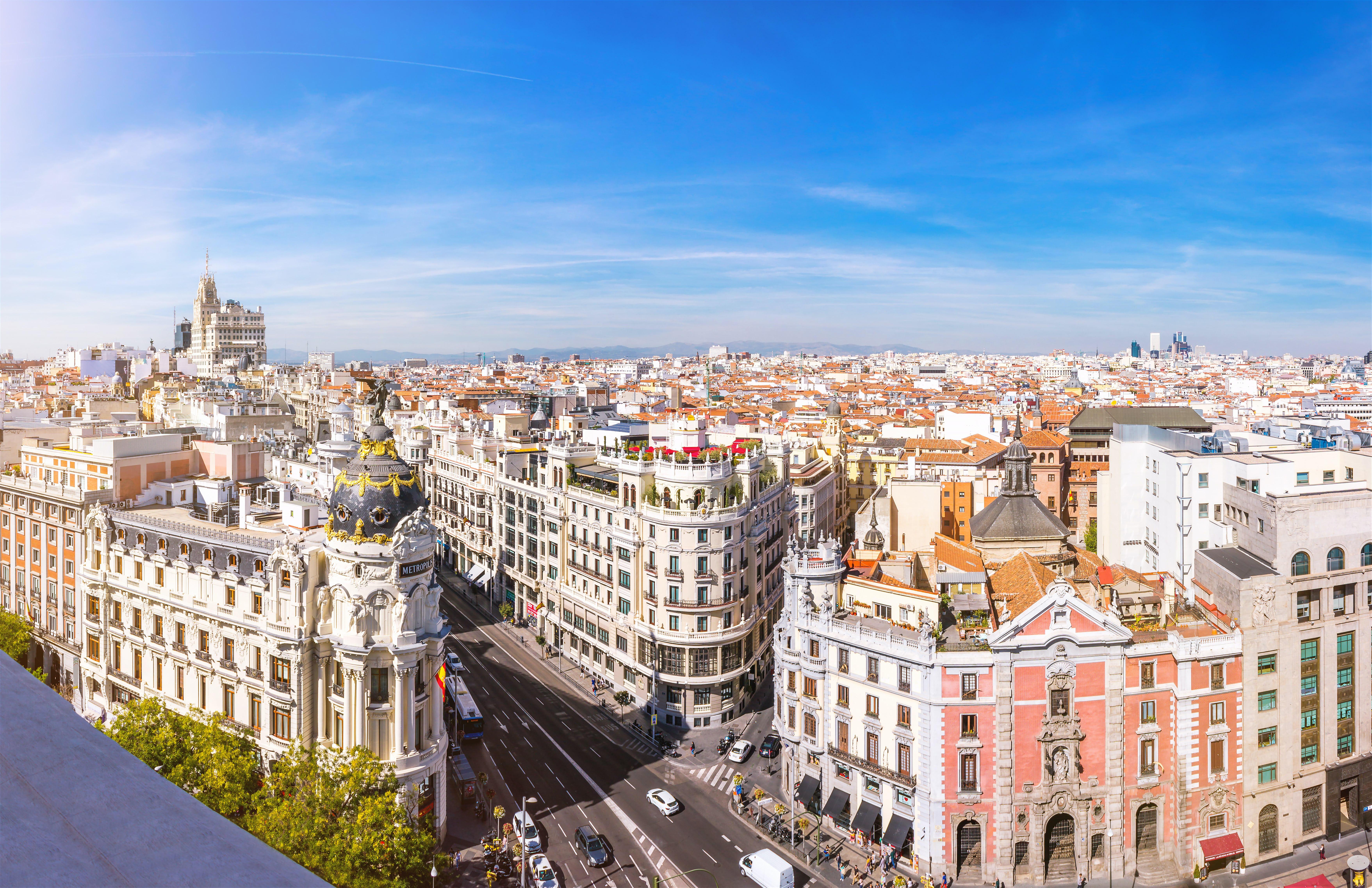 Madrid, Spanje