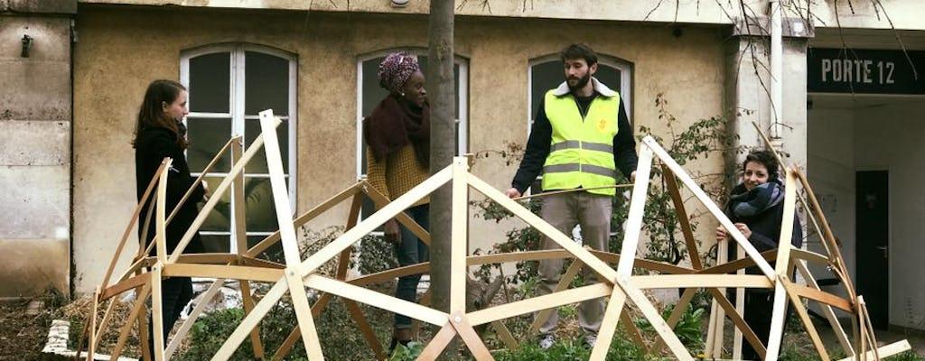 Paris Garden Workshop: Permaculture, Recycling, & Vertical Gardening