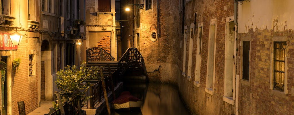 Ghosts and legends tour of Venice with bar hopping