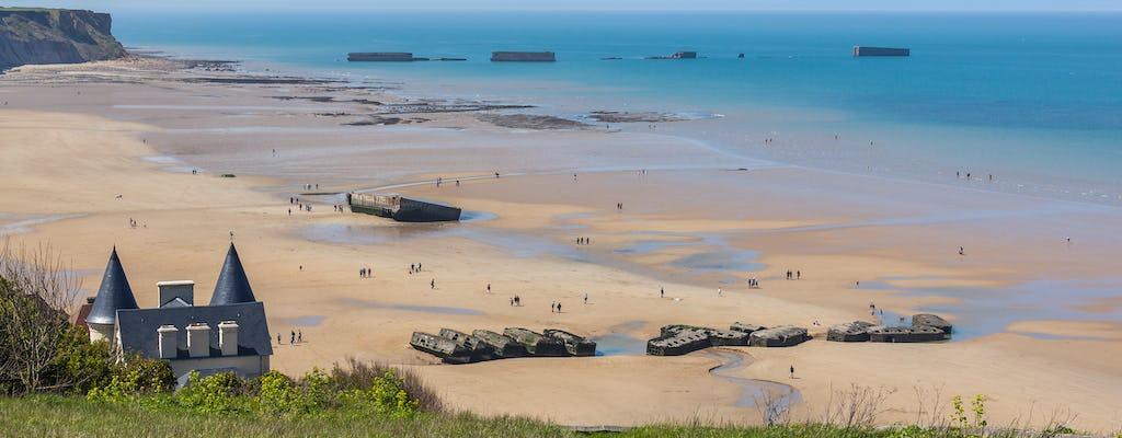 """Дегустация Нормандии американских пляжей """"дня д"""" однодневные поездки из Парижа с типичными Норман обед и сидр"""