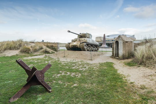 WWII full-day tour with cider tasting and transfer from Paris