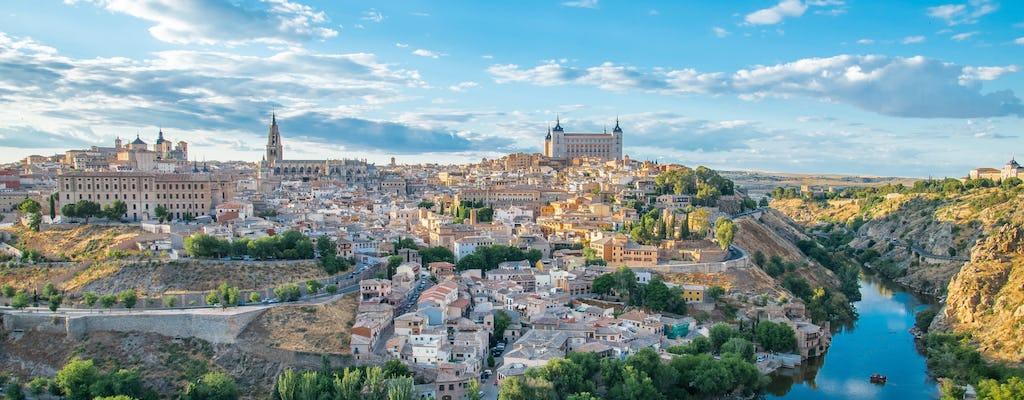 Tour imperial en Toledo con visita y degustación de vinos en la Finca Loranque (desde Madrid)