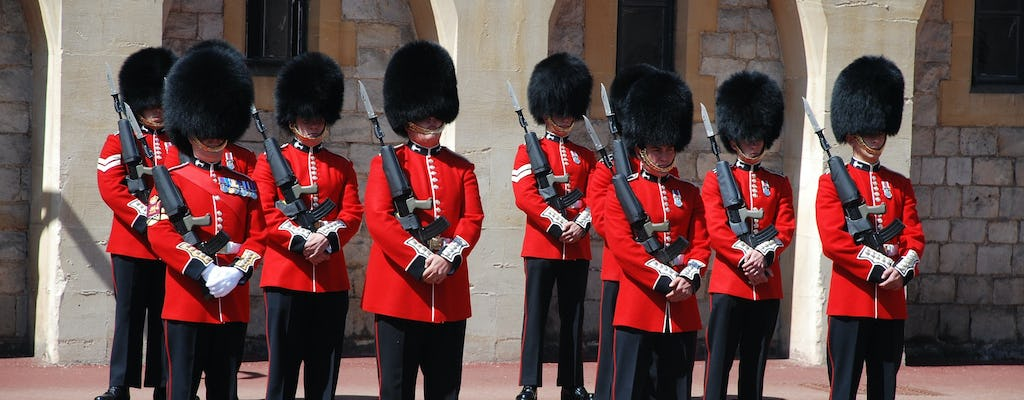Royal Mews and Changing of the Guard guided tour