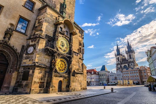 Prague astronomical clock tower skip-the-line tickets
