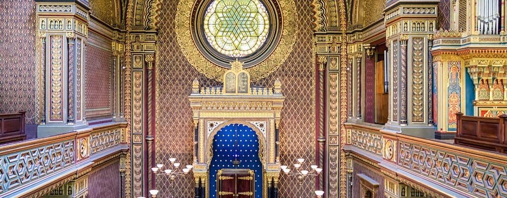Walking tour of Prague's Jewish Quarter with Jewish Museum tickets