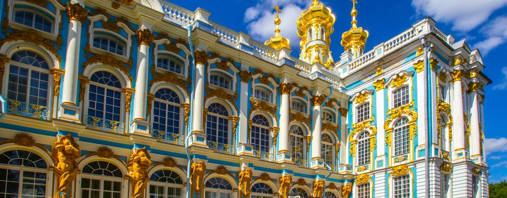 Tour in piccoli gruppi di Catherine Palace e Tsar Village con pick-up in hotel