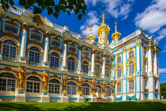 Small group tour of Catherine Palace and Tsar Village
