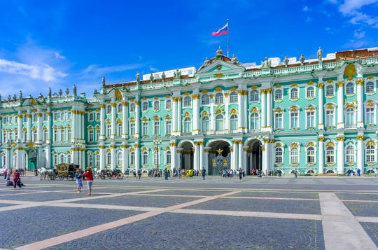 Saint Petersburg 3-days visa-free private shore tour