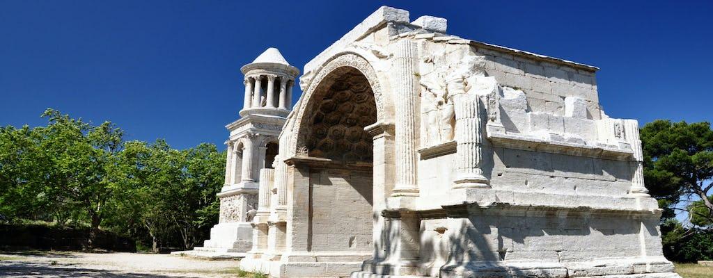 Wycieczka do Saint Remy, Les Baux de Provence i Arles z Aix en Provence