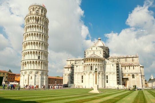 Krzywa Wieża, katedra, Camposanto, baptysterium i Museo delle Sinopie bez kolejki