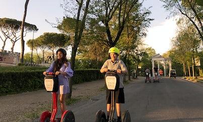 Ver la ciudad,City tours,Visitas en segway,Segway tours,En bici o segway,Villa Borghese,Borghese Gallery