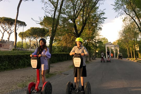 Villa Borghese and city center self-balancing scooter tour