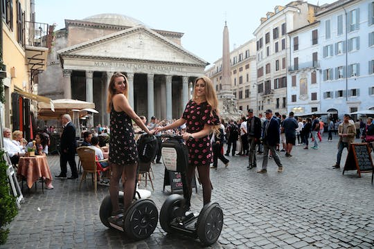 Guided self-balancing scooter tour of Rome