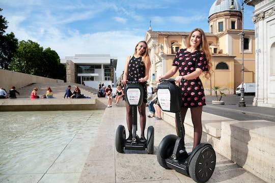 Roman holiday self-balancing scooter tour