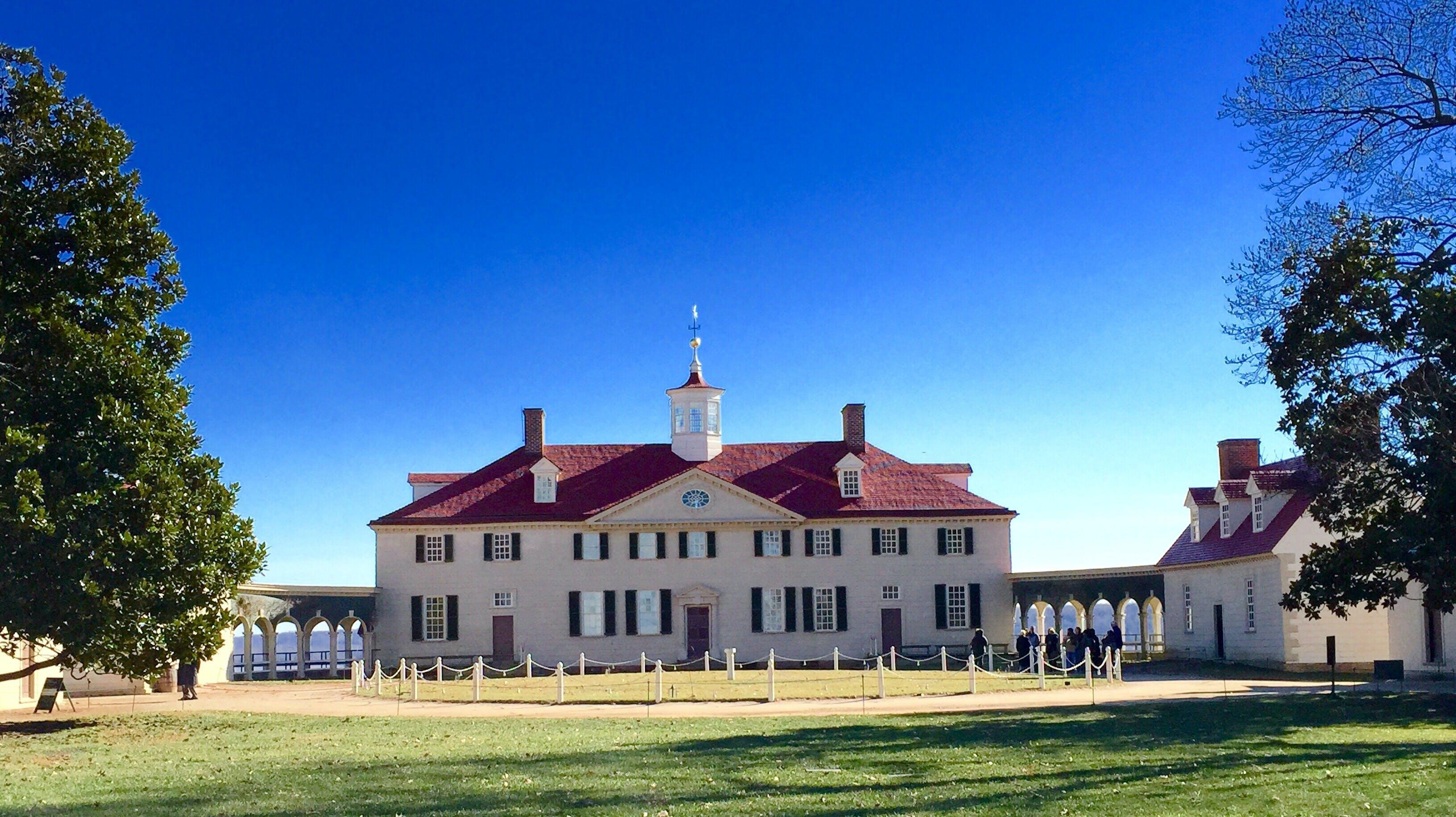 Mount Vernon Estate tour