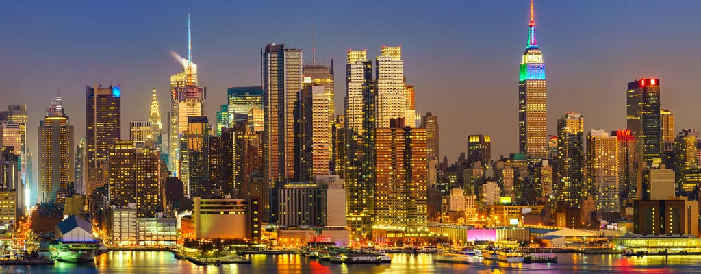 Большое яблоко в свет - Нью-Йорк ночная экскурсия