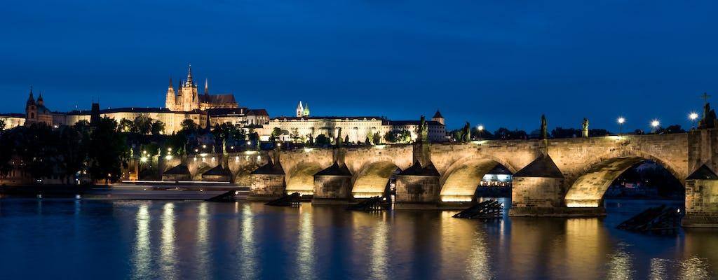 Zamek na Hradczanach i zwiedzanie Starego Miasta po zmroku