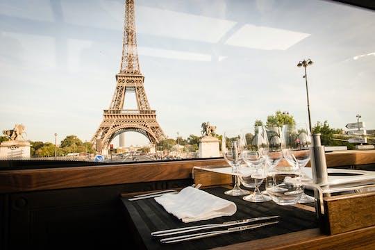 Обед для гурманов с Bustronome в Париже